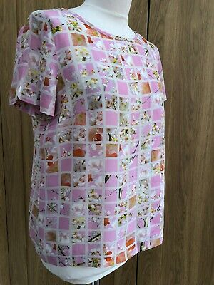Wow 💯 Silk  Iblues Max Mara Beautiful Blouse Net A Porter Cost £159