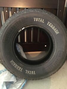 All season tires 265/70R17