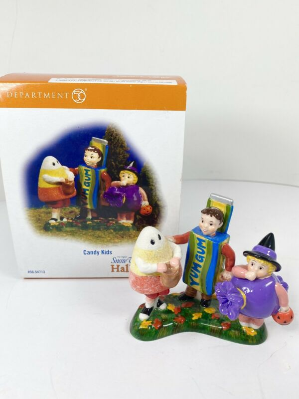 Department 56 Halloween Village Candy Kids Accessory 56.54713 New MIB 2006