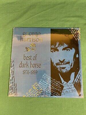 Never Opened Sealed 1989 George Harrison Best of Dark Horse 1976-1989 Vinyl