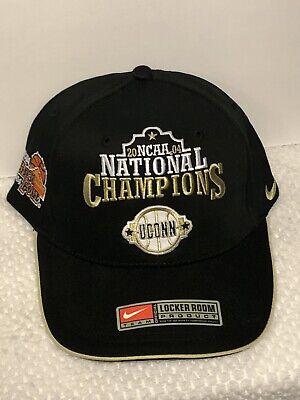 2004 Ncaa Basketball Champions - UCONN NIKE 2004 NCAA Men's Basketball Locker Room National Champions Hat Cap New
