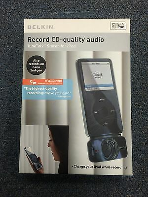 Belkin TuneTalk Stereo for iPod with video - Digital Player Voice Recording Unit