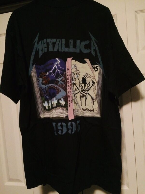 METALLICA Club Loyal Member 1995 T-Shirt Metclub 90s Vintage XL New