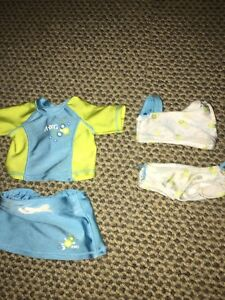 American Girl Doll Swimsuit Set (2 Two-Peice Swimsuits)