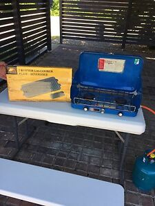 Portable Primus Gas BBQ and Gas Bottle Nerang Gold Coast West Preview