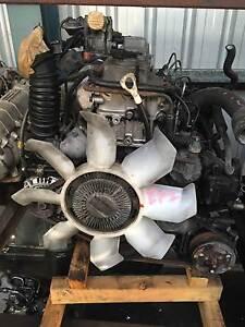 Mitsubishi Pajero 4M40 turbo diesel EFI engine Slacks Creek Logan Area Preview