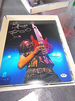 Rudy Sarzo Quiet Riot Ozzy Hand Signed Color Concert 11X14 Psa Coa X75019
