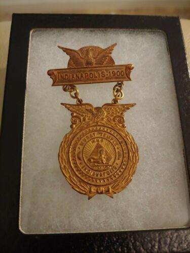 Knights of Pythias DOKK 1900 Indianapolis Medal