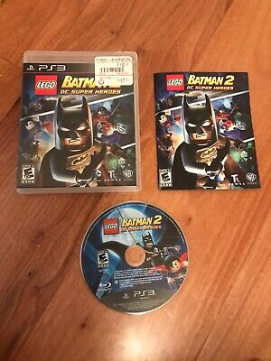 LEGO Batman 2: DC Super Heroes (Sony PlayStation 3, 2012) PS3 Complete! Tested!