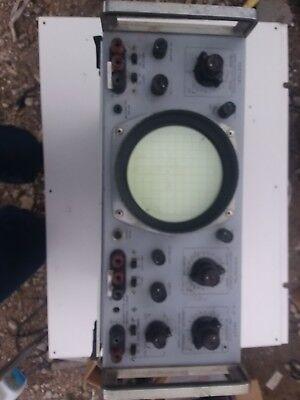 Vintage Hp Hewlett Packard 130c Oscilloscope