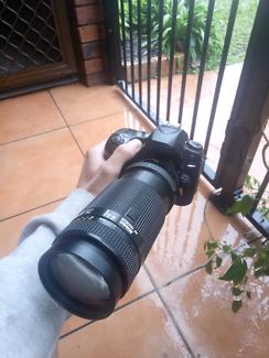 Nikon d80 + Nikkor 75-300