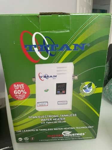 TITAN SCR3 ELECTRIC TANKLESS WATER HEATER BRAND NEW