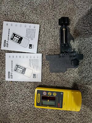 New Cstberger Stanley Lld1 Line Laser Receiver Pulsing Laser Detector