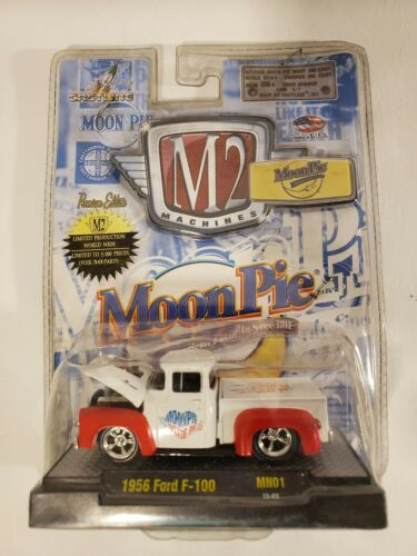 M2 Machines scale 1:64 1970 Ford F -100 moon pie edition unopened 2013 pickup