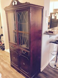 Canadian Made Antique Display Cabinet