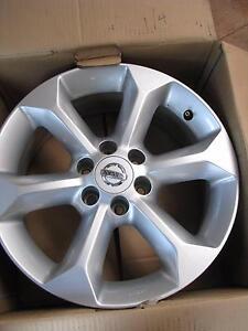 "Nissan Navara D40 17"" x 7"" Alloy Wheels removed when new Genuine Dereel Golden Plains Preview"