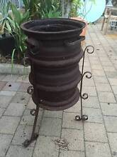 Sturdy Old Home Made Fire Pit Beckenham Gosnells Area Preview
