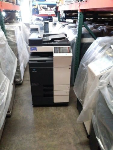 Konica Minolta Bizhub 454e Printer Copier Scanner Black/white Mfp Low Meter