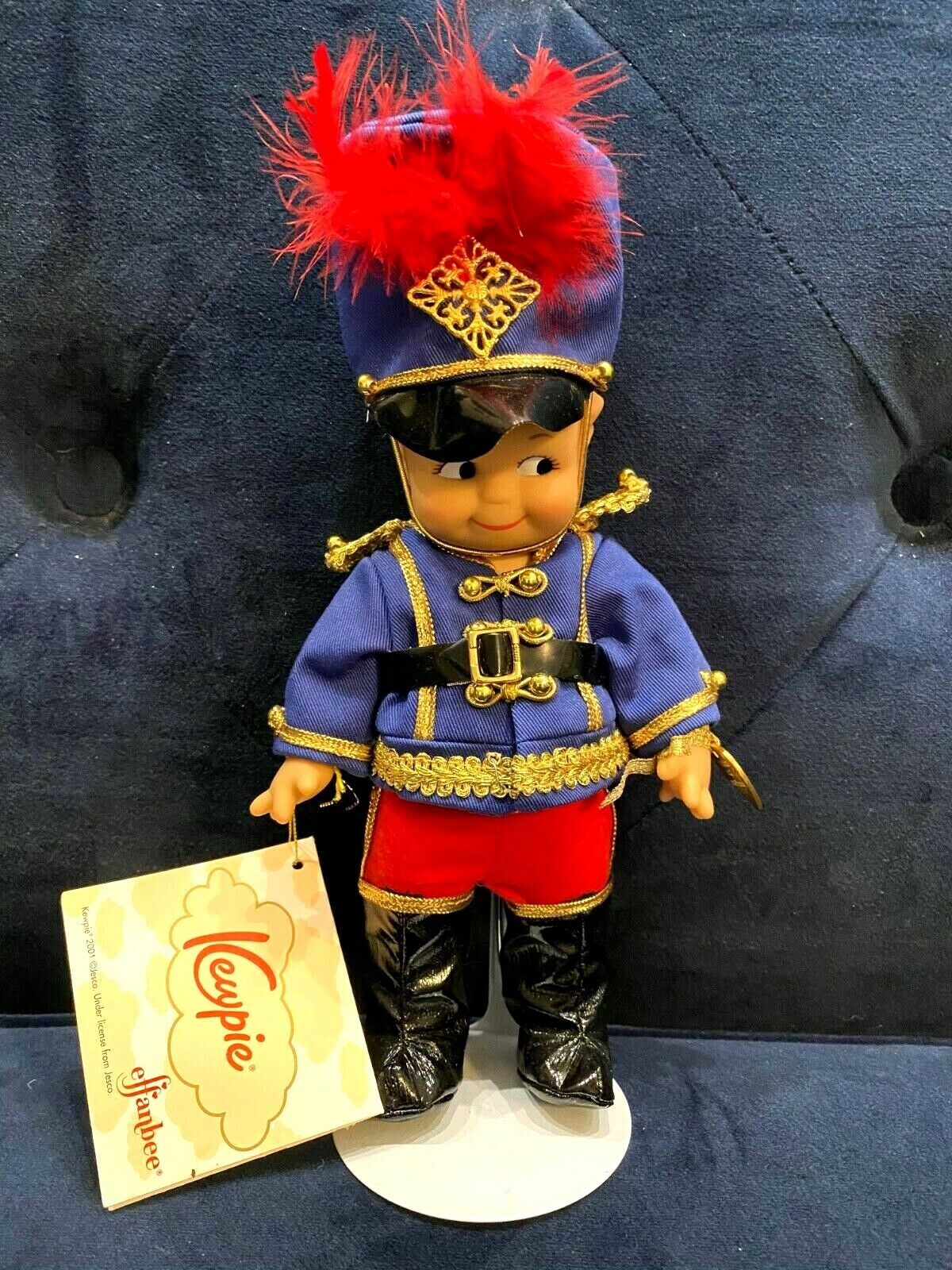 Effanbee - 8 Nutcracker Soldier - Stand Charm - V3015Y01 - Tags But No Box  - $14.99