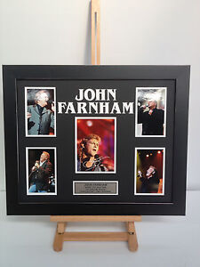 UNIQUE-PROFESSIONALLY-FRAMED-SIGNED-JOHN-FARNHAM-PHOTO-COLLAGE-WITH-PLAQUE