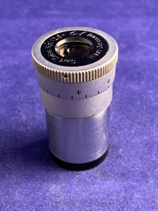 Carl Zeiss microscope eyepiece - kpl 12.5x with micrometer reticle