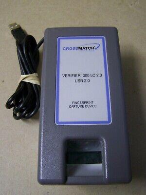 Crossmatch Verifier 300 Lc 2.0 Biometric Fingerprint Reader - Usb - 900169