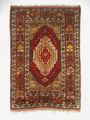 Antiker handgeknüpfter Teppich aus Türkei Anatolien, sehr guter Zustand