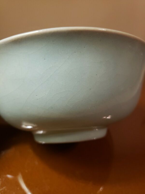 Chinese antique celadon bowl