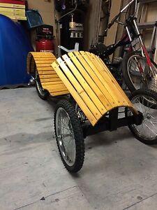 Custom three wheel pedal bike