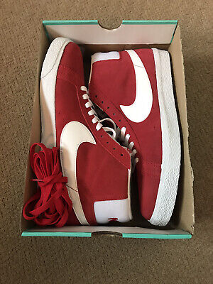 New Mens Nike Blazer size 12 UK (US 13 EU 47.5) Red Box