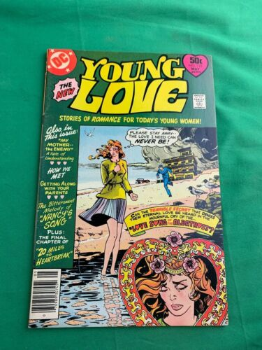 Young Love No. 125 DC May 1977  in Fine Love Song of the Albatross!