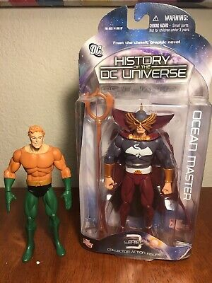 DC Direct History of the DC universe Aquaman and Ocean Master figure set