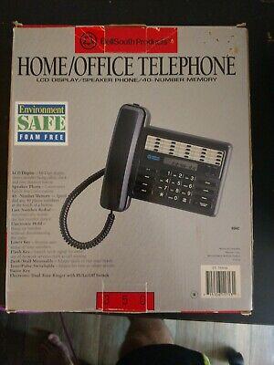 Vintage Bellsouth Homeoffice 40 Auto Dial Memory Landline 350 Series New In Box