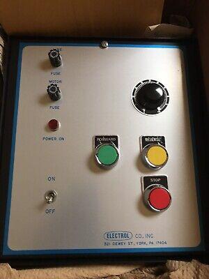 Dc Motor Controller -d-trol Electrol