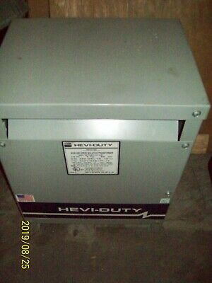 Egs Hevi-duty Shielded Drive Isolation Transformer 14 Kva 3 Phase Dt651h14s