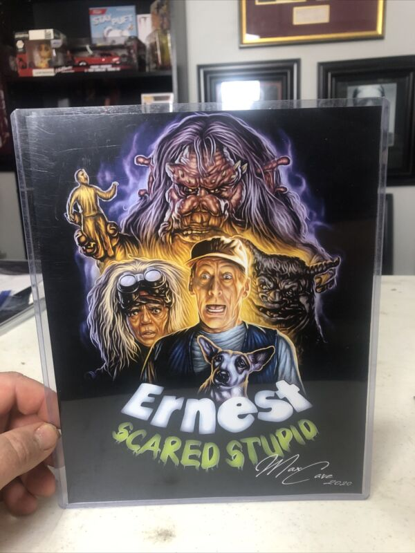 Exclusive ERNEST SCARED STUPID Horror Art Print Poster 8X10 New