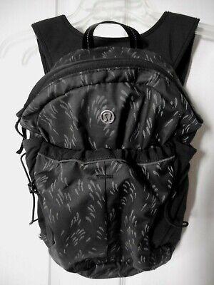 Lululemon Run All Day Backpack Black/ Gray