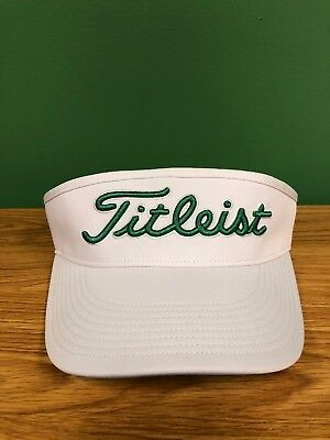 10819c9e212 Titleist Tour High Crown Visor- White Green