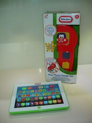 2 Educational Games /Little Tikes Interactive Laptop /Play Phone Dough Set BNIB for sale  Shipping to South Africa