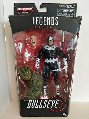 Hasbro Marvel Legends Bullseye Man-thing Baf MISB Box has wear (see pic)