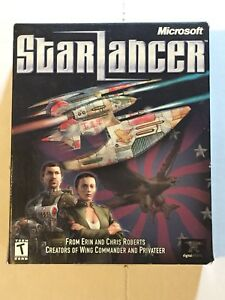 Star Lancer 2000 Microsoft PC CD Game Boxed
