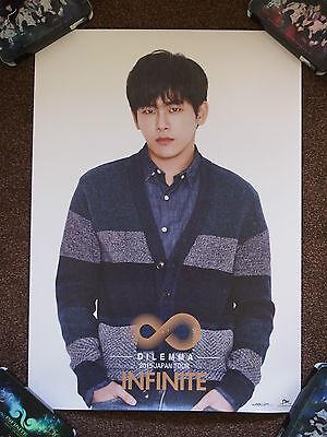 INFINITE Dilemma 2015 tour goods poster type B - Hoya Myungsoo L Woohyun