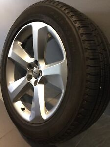 """AUDI Q5 19"""" GENUINE ALLOY WHEELS AND TYRES Carramar Fairfield Area Preview"""