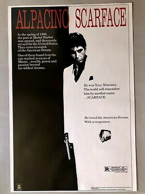 Scarface Movie Poster Al Pacino 24 X 36""