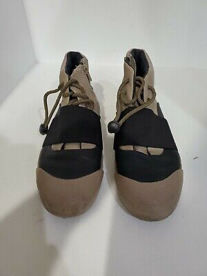 Zara Womens Beige Lace Up Shoes Size 38/39-8-8.5 M