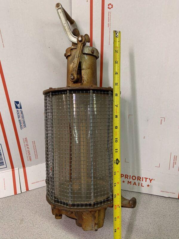 Acetylene Generator Globe Steam Punk Lamp Antique Night Light Vintage