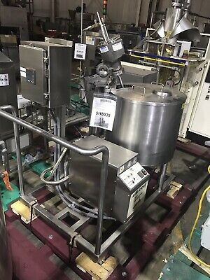 Triangle Process 150l Jacketed Make-up Tank W Budzar Temp Controllercirculator