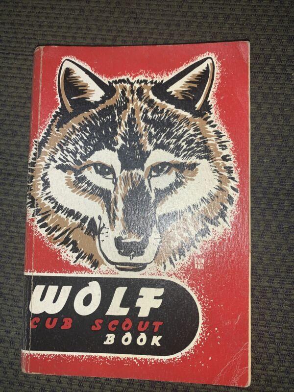 1952 Boy Scout Wolf Cub Scout Book  BSA