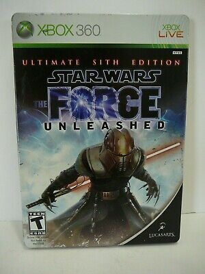 Star Wars The Force Unleashed Ultimate Sith Edition Xbox 360 Manual Card