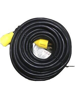 Proline Power Heavy Duty 25 Ft Generator Extension Cord 30 Amp 3 Prong 120v...